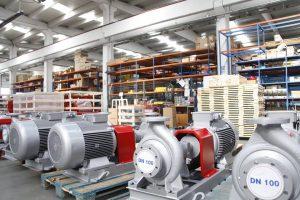 Máy bơm dầu truyền nhiệt cho lò dầu tải nhiệt