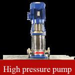 Máy bơm tăng áp trục đứng đa tầng cánh cấp nước nóng