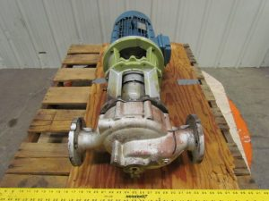 sửa chữa bơm dầu truyền nhiệt Allweiler trục đứng