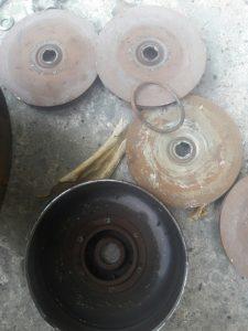 Sửa chữa máy bơm nước trục đứng CR grundfos